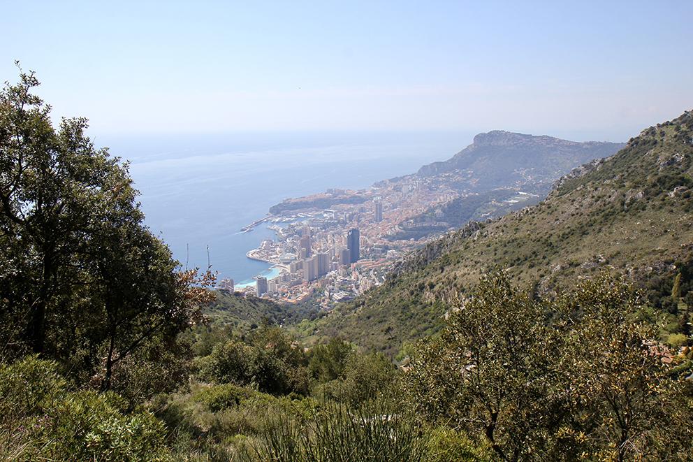 Le Mont Gros à Roquebrune-Cap-Martin culmine à 686m et sert de base d'envol aux amateurs de parapente. Sonia VERANI (7)