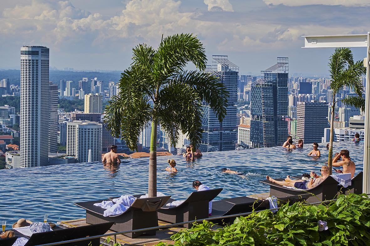 Singapore, Marina Bay Sands hotel