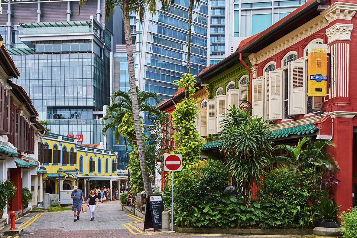Singapore, Emerald Hill Road